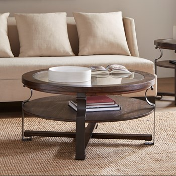 Forge Round Coffee Table