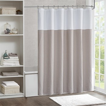Carlyle Jacquard Shower Curtain