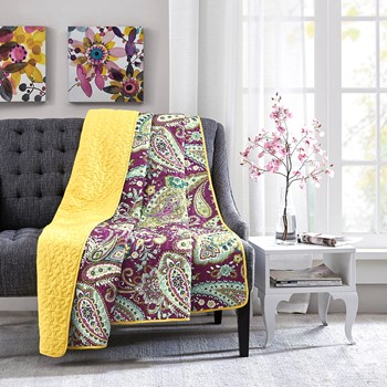 Melissa Oversized Quilted Throw
