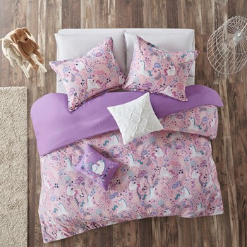 Lola Cotton Printed Duvet Cover Set