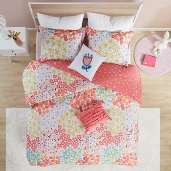 Misty Cotton Reversible Comforter Set