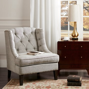 Sawyer Button Tufted Accent Chair