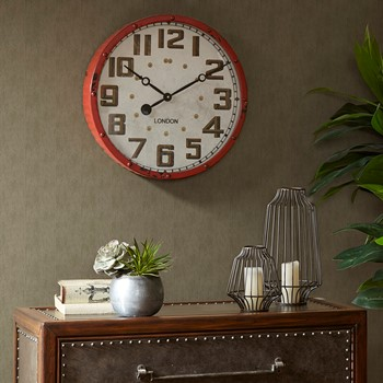 Gremacy Metal Clock