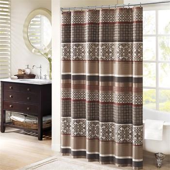 Princeton Jacquard Shower Curtain