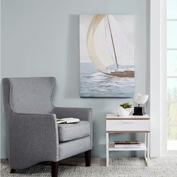 Sail Away Knife Palette Paint Canvas
