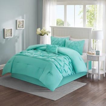 Cavoy 5 Piece Tufted Comforter Set