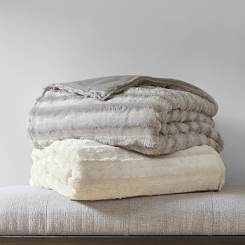 Duke Faux Fur Weighted Blanket