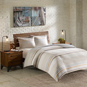 Rowan 3 Piece Duvet Cover Mini Set