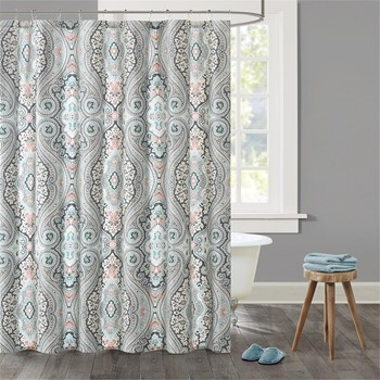 Sterling Cotton Printed Shower Curtain