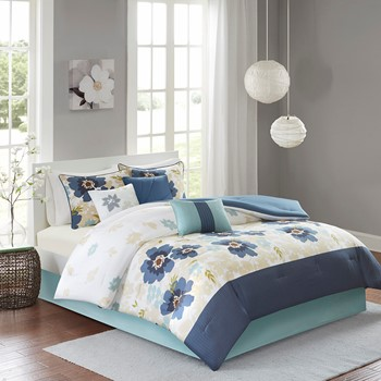 London 7 Piece Comforter Set