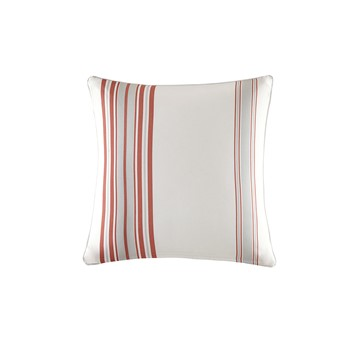 Newport Printed Stripe 3M Scotchgard Outdoor Square Pillow