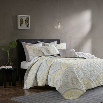 Matti 7 Piece Cotton Coverlet Set