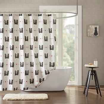 Gigi Cotton Printed Shower Curtain