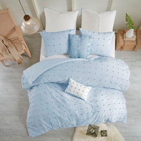 Brooklyn Cotton Jacquard Comforter Set