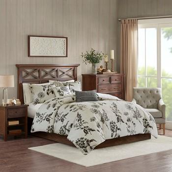 Nellie 5-Piece Cotton Duvet Cover Set