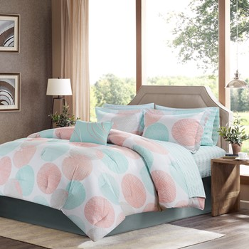 Knowles Complete Comforter and Cotton Sheet Set