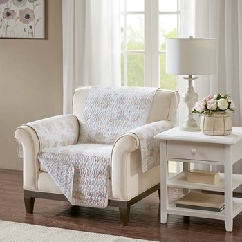 Serendipity Cotton Printed Arm Chair Protector