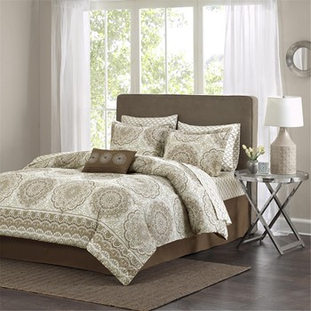 Coronado Complete Comforter and Cotton Sheet Set