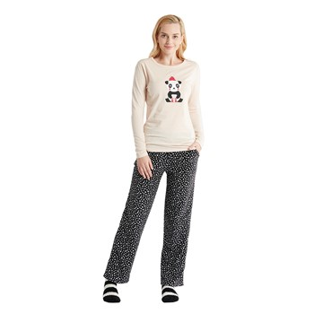 Panda 3 Piece Pajama Set