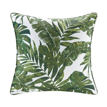 Everett Printed Palm 3M Scotchgard Outdoor Square Pillow
