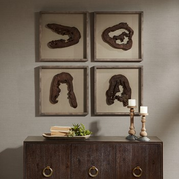 Grove Faux Wood Decor