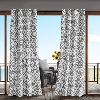 Daven Printed Fretwork 3M Scotchgard Outdoor Panel