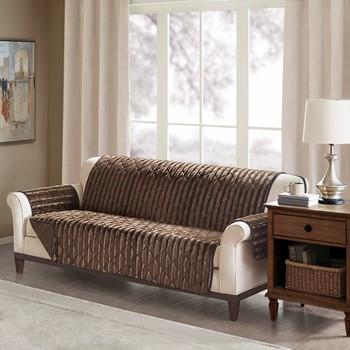 Duke Faux Fur Sofa Protector