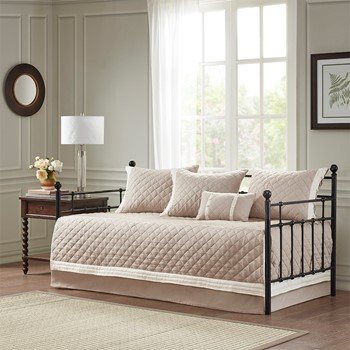 Breanna 6 Piece Cotton Daybed Cover Set