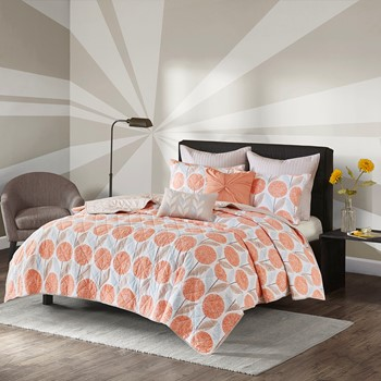 Johanna 7 Piece Cotton Coverlet Set