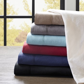 3M Scotchgard Micro Fleece Sheet Set