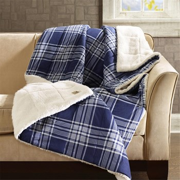 Leeds Softspun Down Alternative Oversized Throw