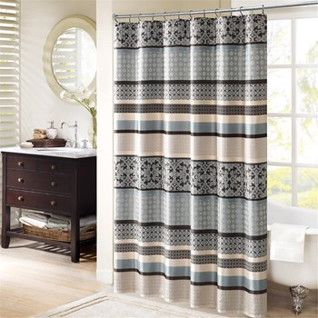 Princeton Jacquard Shower Curtain