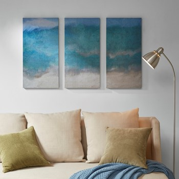 Abyss 3 Piece Printed Canvas Set