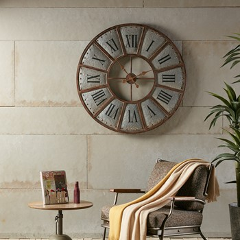 Verona Iron Wall Clock