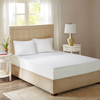 """10"""" Gel Memory Foam Mattress Maximum Comfort with Removable Knitted Cooling Cover"""