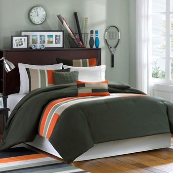 Pipeline Comforter and Decorative Pillow Set