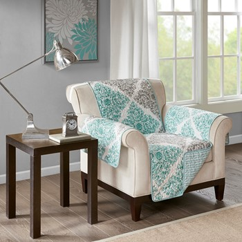 Claire Printed Arm Chair Protector