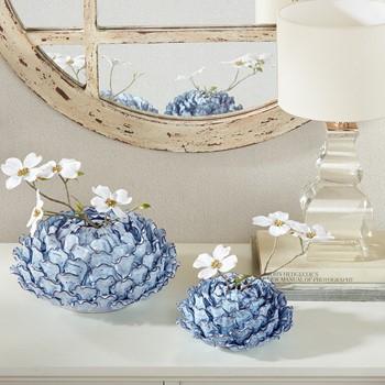 Azura Light Blue Ceramic Vase