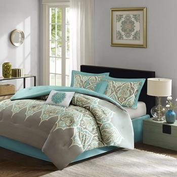 madison set bedding collection signature blue comforter piece park castello