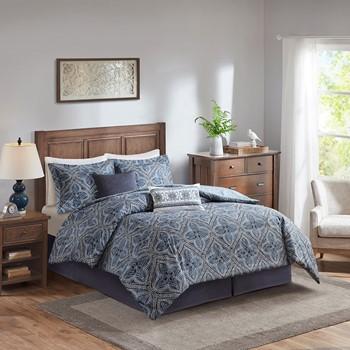 Nulki 6 Piece Cotton Comforter Set