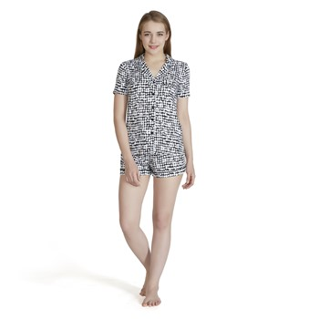 Darby Dot Short Sleeve Pajama Set