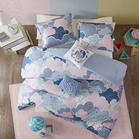 Cloud Cotton Printed Comforter Set
