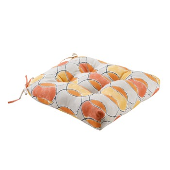 Gaviota Printed Circles 3M Scotchgard Outdoor Seat Cushion