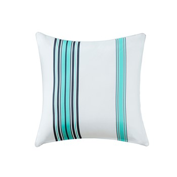 Newport Stripe 3M Scotchgard Outdoor Large Square Pillow