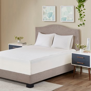 """14"""" Gel Memory Foam Mattress Maximum Comfort with Removable Knitted Cooling Cover"""