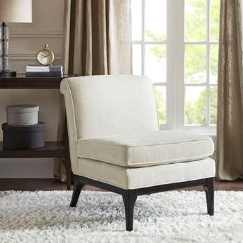 Camelle Armless Accent Chair