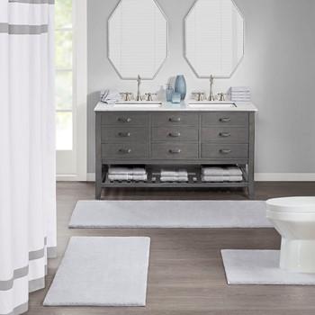 Marshmallow Bath Rug Collection