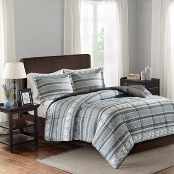 Fairbanks 3M Scotchgard Down Alternative Comforter Mini Set
