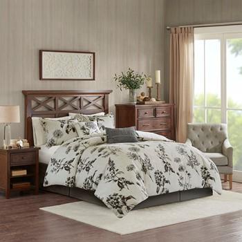 Nellie 6-Piece Oversized Cotton Comforter Set