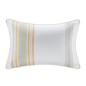 Newport Printed Stripe 3M Scotchgard Outdoor Oblong Pillow